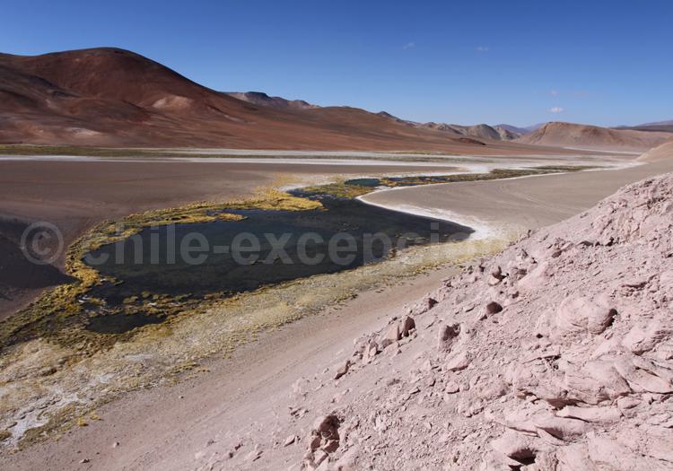 Laguna Escondida, parc Nevado Tres Cruces