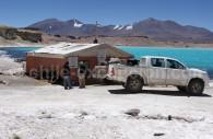 Refuge de la Laguna Verde, parc Nevado Tres Cruces