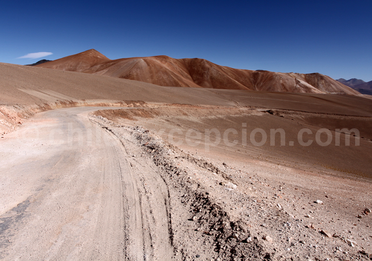 Route 31 reliant le col de San Francisco à Copiapó