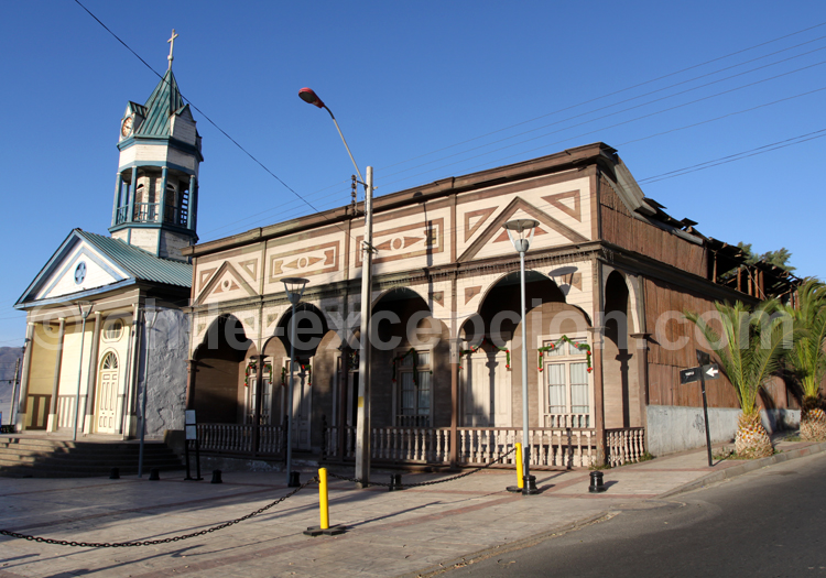 Eglise de Chañaral et Casa Molina