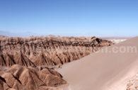 Cordillère de Sel, désert d'Atacama