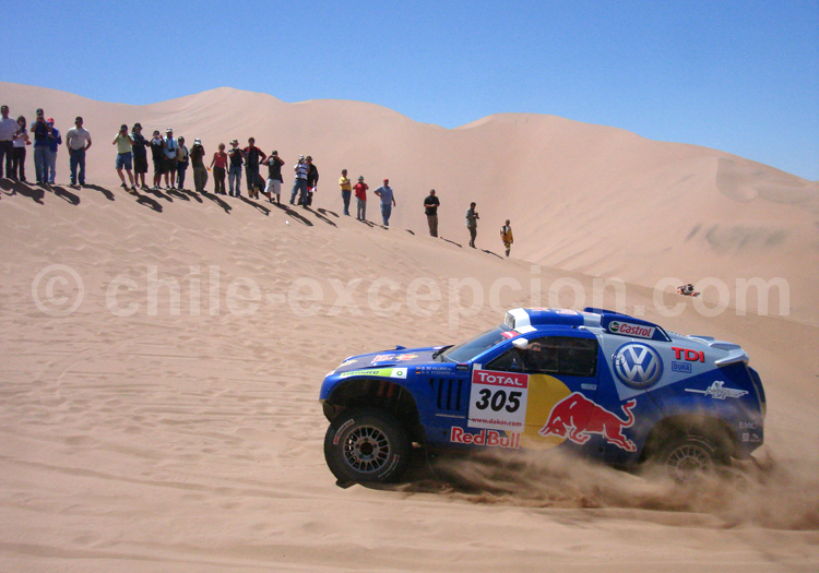 Le rallye Dakar à Copiapó