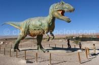 Dinosaure, Matilla, proche du site de Chacarilla
