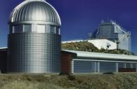 Dôme du télescope suisse, La Silla – Crédit ESO