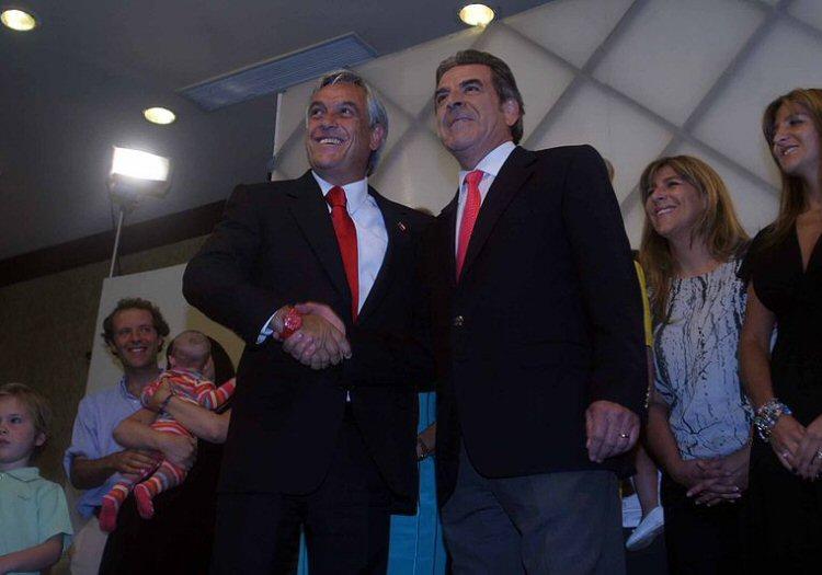 Eduardo Frei et Sebastian Piñera © Mano