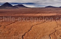 Pentes du volcan Licancabur, San Pedro de Atacama