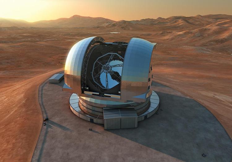 Extremely large Telescope, cerro Amazones