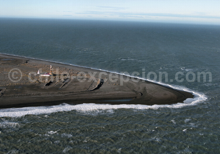 Entrée Atlantique du détroit de Magellan, phare Dungenes