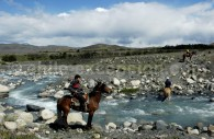 Découverte à cheval des environs du lodge Cerro Guido