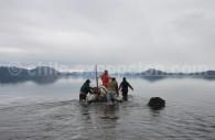 Partie de pêche en Terre de Feu