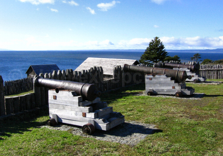 Fort Bulnes, au sud de Punta Arenas