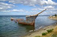 Epave de la frégate anglaise Lonsdale à Punta Arenas. Crédit Hixaga Ximatik