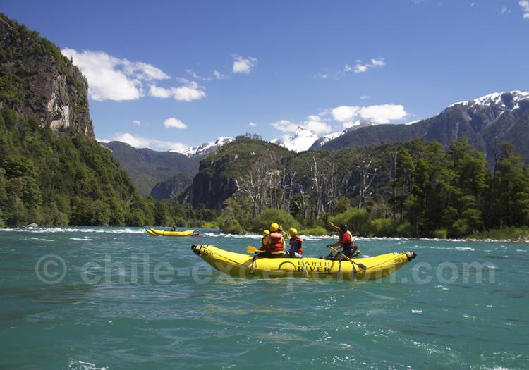 Futaleufu northwest rafting, Patagonie des lacs