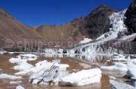 Glacier El Morado. Crédit Hixaga Ximatik