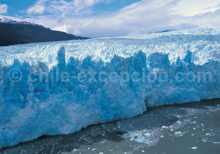 Parc national Bernardo O'higgins, glacier Pio XI, Campo de Hielo Sur