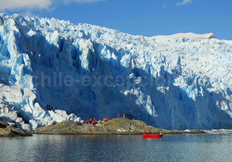 Face à face avec le glacier Amalia