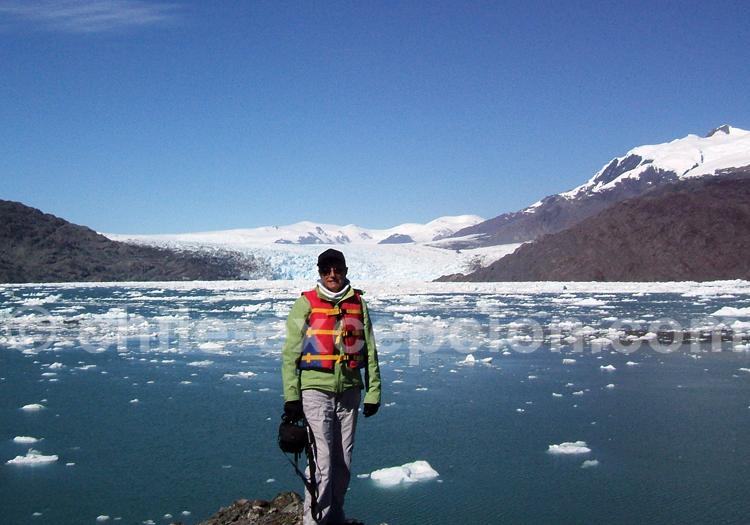 Glacier Montt, photo Dominique & Marc
