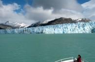 Le front du Glacier O'Higgins