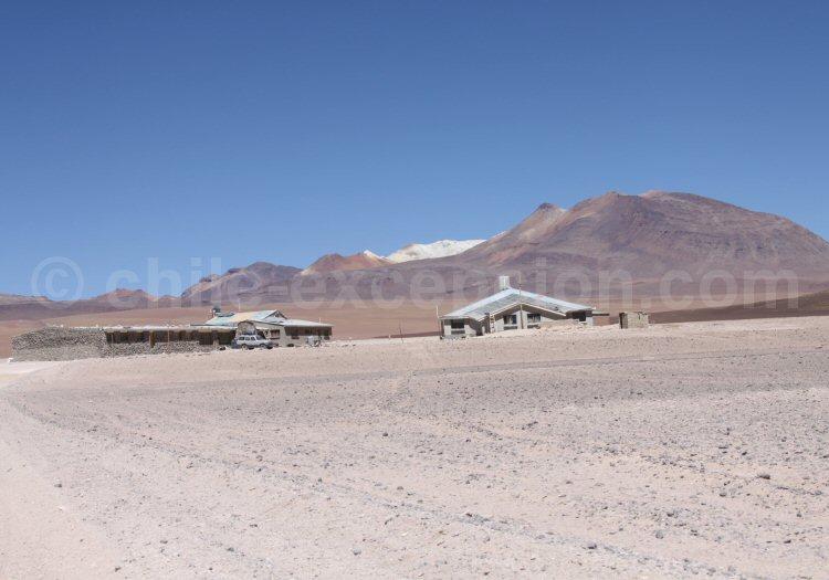 Hito Cajón, frontière Bolivie Chili