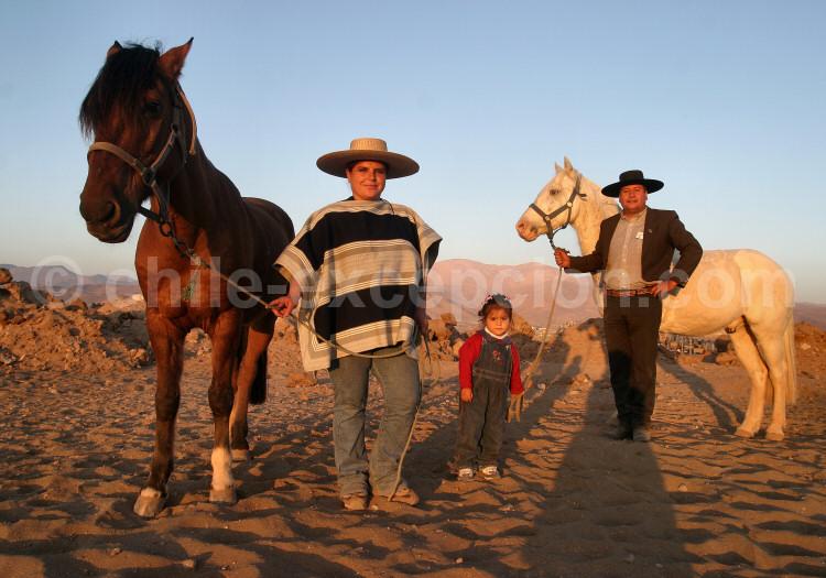 Les Huasos au Chili