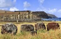 Isla de Pascua, Ahu Tongariki.