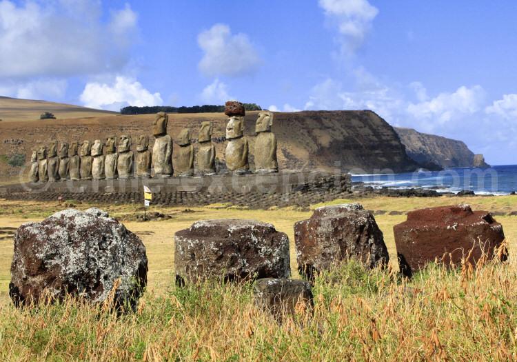 Isla de Pascua, Ahu Tongariki