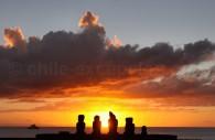 Ahu Tahai, île de Rapanui