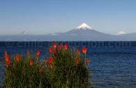 Lac Llanquihué, volcan Osorno depuis Frutillar