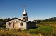Chapelle prés du village de Quemchi, Grande Île de Chiloé