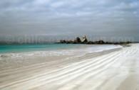 Playa Las Tijeras, Isla Damas, Réserve nationale Pingüino de Humboldt, Chili. Crédit Carlos Moreno Letelier