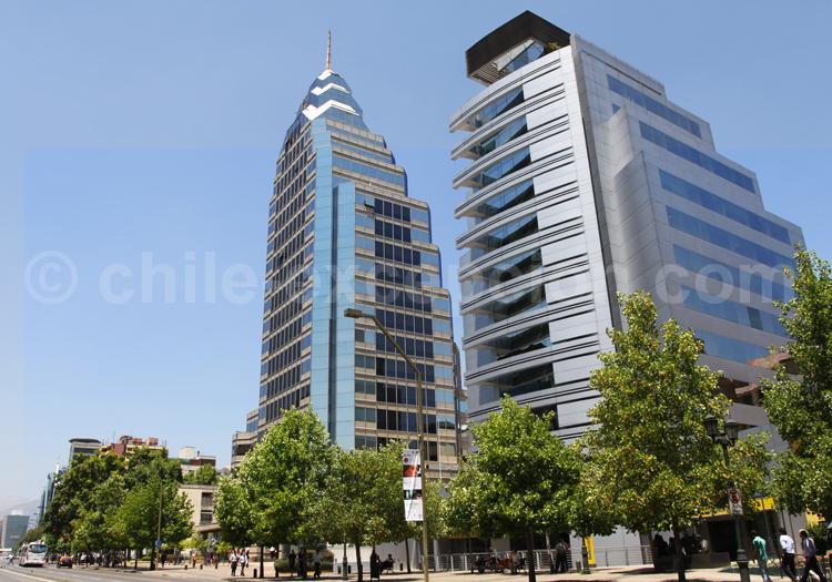 Quartier El Golf, Santiago de Chile