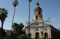 Eglise Recoleta Franciscana, quartier Independancia, Santiago