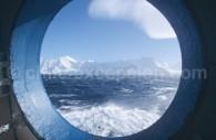 Vue sur la péninsule antarctique. ©Prisca Campbell
