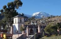 Eglise de Putre, volcan Tarapaca