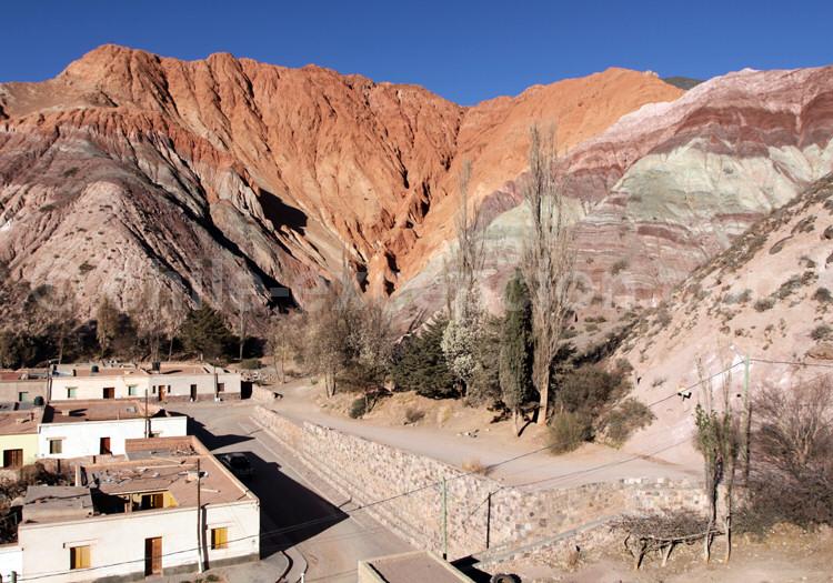Purmamarca, Cerro de los Siete Colores (montagne aux sept couleurs), Jujuy