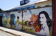 Art rupestre dans les rues de Valparaíso
