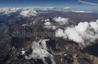 Survol des Andes, Chili