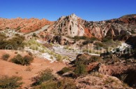 Los Colorados, parc Los Cardones, province de Salta