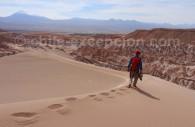 Randonnée vallée de La Lune, désert d'Atacama