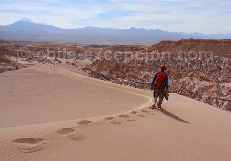 Randonnée vallée de Mars, Atacama