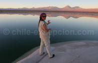 Laguna Cejar, salar de Atacama