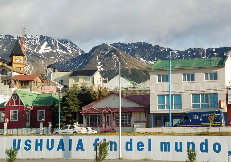 Ushuaia, la ville du bout du monde, Argentine