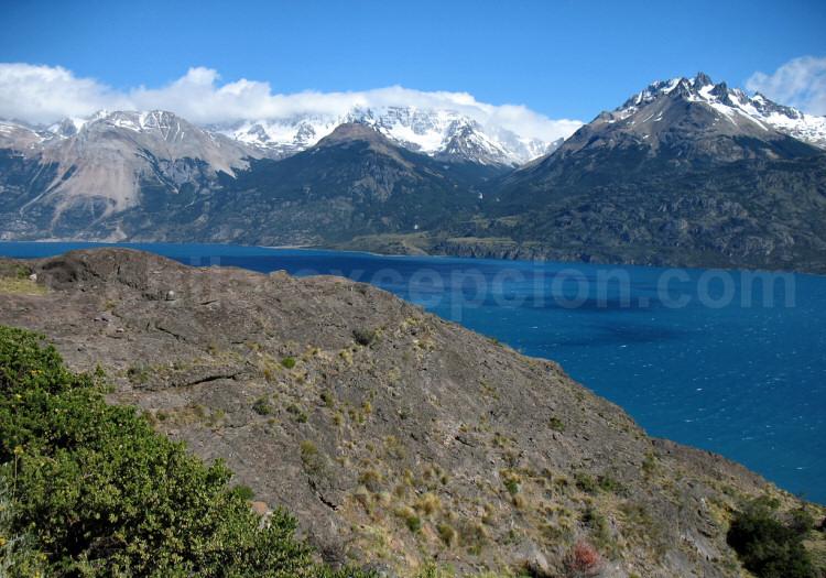 Lac General Carrera, région d