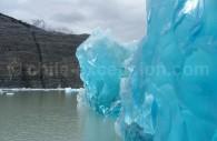 Glace du glacier Grey