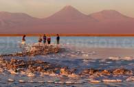 Lagune de Tebinquiche, salar d'Atacama