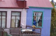 Maisons colorées à Punta Arenas