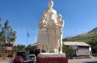 Monument Gabriela Mistral, Monte Grande, Vallée de Elqui