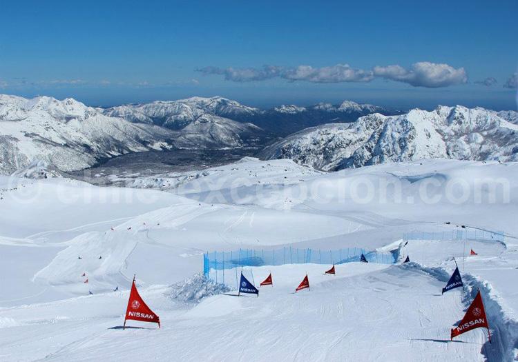 Station Nevados de Chillan - crédit Nevados de Chillan