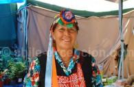 Femme mapuche. Crédit : Raul Urzua de la Sotta