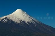 Les flancs du volcan Osorno